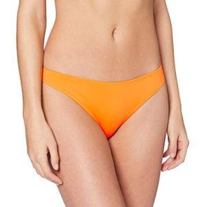 Only ONLNITAN Bikini Brief Bas, Sun Orange, L Femme