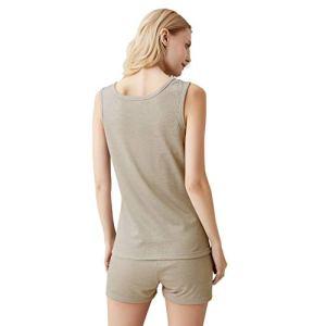 Sous-Vêtements De Protection Contre Les Rayonnements Électromagnétiques Pour Femmes 100% Sous-Vêtements En Fibre D'argent, Blindage EMF, Ajustement Serré,Vest and boxers,XL