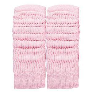 Toocool LO-LW01 Jambières unisexes à la mode, chaudes, pour danse, hiver – Rose – Taille Unique