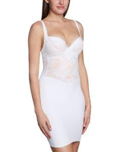 Triumph – Beauty Sensation – Combinaison gainante – Uni – Femme – Blanc – FR : 42 (Taille fabricant : 40)