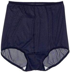 Bali Skimp Skamp Brief Panty Culotte, en Bleu Marine, 38 Femme