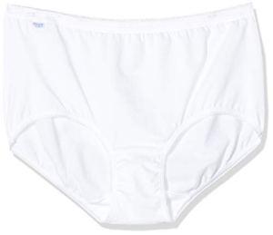 sloggi Basic+ Midi 4P, Slip Femme, Blanc (White 0003), 36, Lot de 4