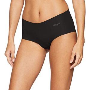 sloggi ZERO Cotton Short, Boxer Femme, Noir ( BLACK 0004), M