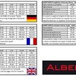 Albert Kreuz Maillot de Corps Laine mérinos sans mulesing – Anti-Transpiration Tee-Shirt Grand col Rond écru S (38-40)