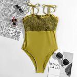 BaoDan Maillot de Bain Femme Brésilien Push-Up Bikini Sexy Tentation Combinaison Femme Romantique Strings Hot Sexy Tenue Sexy Femme Ouverte Lingerie Eerothique Sexy Body Femme Lingerie Sexy
