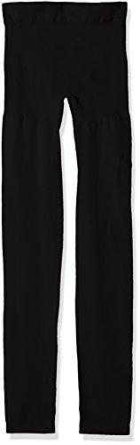 bellycloud Shape-Leggings, Figurformend, Seamless Effet Gainant, Noir (Schwarz 001), 36 (Taille Fabricant : S) (Lot de 2) Femme