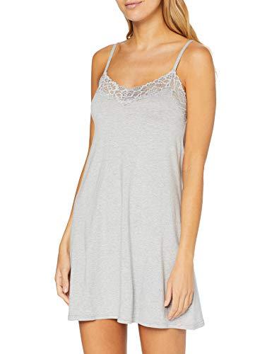 Skiny Sleep & Dream Spaghettisleepshirt Négligés, Gris (Stone Grey Melange 5593), 38 (Taille Fabricant: 36) Femme