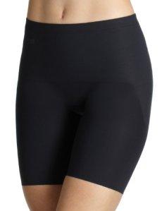Sloggi – Slim Long – Jupe sculptantes – Uni – Femme – Noir – FR : 46 (Taille fabricant : 18)