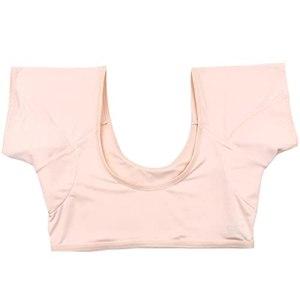 ZYX Maillot de Corps Lavable Absorbant La Transpiration Gilet de sous-vêtements Anti-Transpiration a Section Mince pour Femmes Filles Dames (Color : Skin Tone, Size : XL)