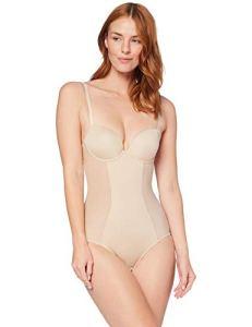 Iris & Lilly C28954-00 Haut Gainant, Beige (Nude), 36B