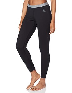 Odlo Suw Bottom Pant Natural 100% Merino Warm Knickers Femme Black FR: L (Taille Fabricant: L)