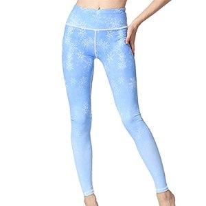 PRJN Pantalons pour Femmes Pantalons de Yoga pour Femmes Taille Haute Exercice de contrôle Abdominal Course à Pied Collants de Sport Pantalons de Fitness Minces pour Dames Pantalons de Yoga imprimés