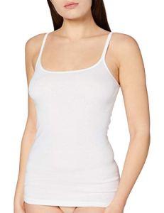 Triumph Katia Basics Shirt01 (1PL35) – Maillot de corps Femme – Blanc (White 03) – 50 (Taille fabricant: 48)