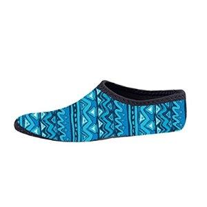 Zonster Chaussures Nautiques, Sports Légers Chaussettes Séchage Rapide Plage Swim Plongée sous-Marine Piscine Yoga Chaussures pour Femmes des Hommes (XL)