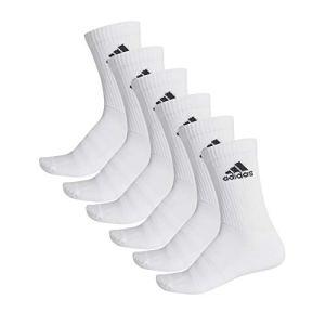 adidas CUSH Crw 6PP Chaussettes Top: White/Bottom: White/FR: 2XL (Taille Fabricant: Kxxl)