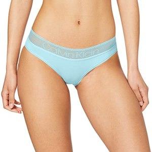 Calvin Klein Bikini Bas De Maillot, Bleu (Frozen FZ6), (Taille Fabricant: X-Small) Femme
