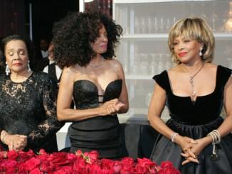 Tina Turner and Diana Ross