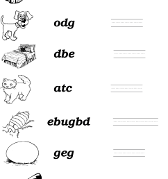 Jumbled Sentence Worksheets   Printable Worksheets and Activities for  Teachers [ 2635 x 1797 Pixel ]