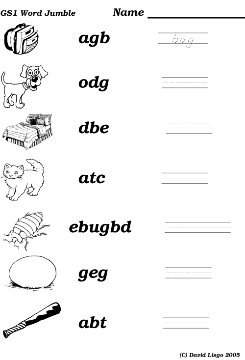 small resolution of Jumbled Sentence Worksheets   Printable Worksheets and Activities for  Teachers