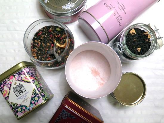 pink teas