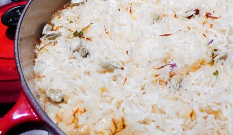 Fragrant ris - oppskrift fra Et kjøkken i Istanbul