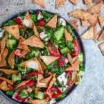 Fattoush - oppskrift / Et kjøkken i Istanbul