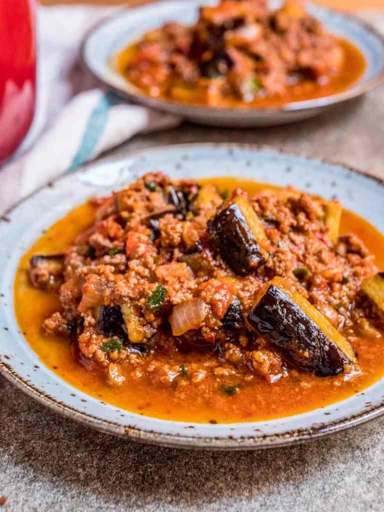 Tyrkisk moussaka - oppskrift / Et kjøkken i Istanbul