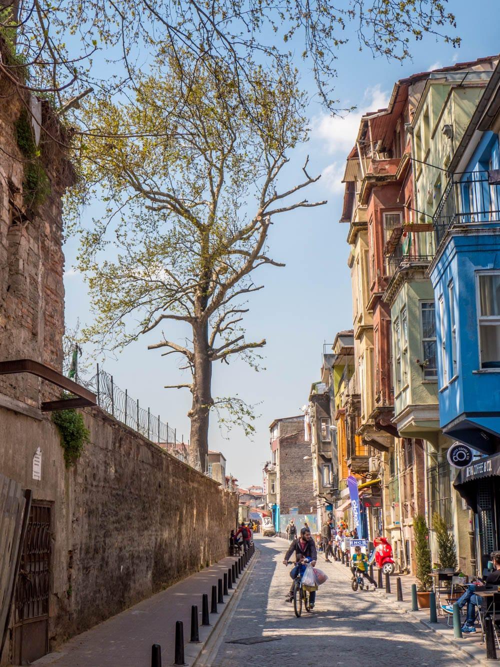 Vodina Caddesi i Balat, Istanbul