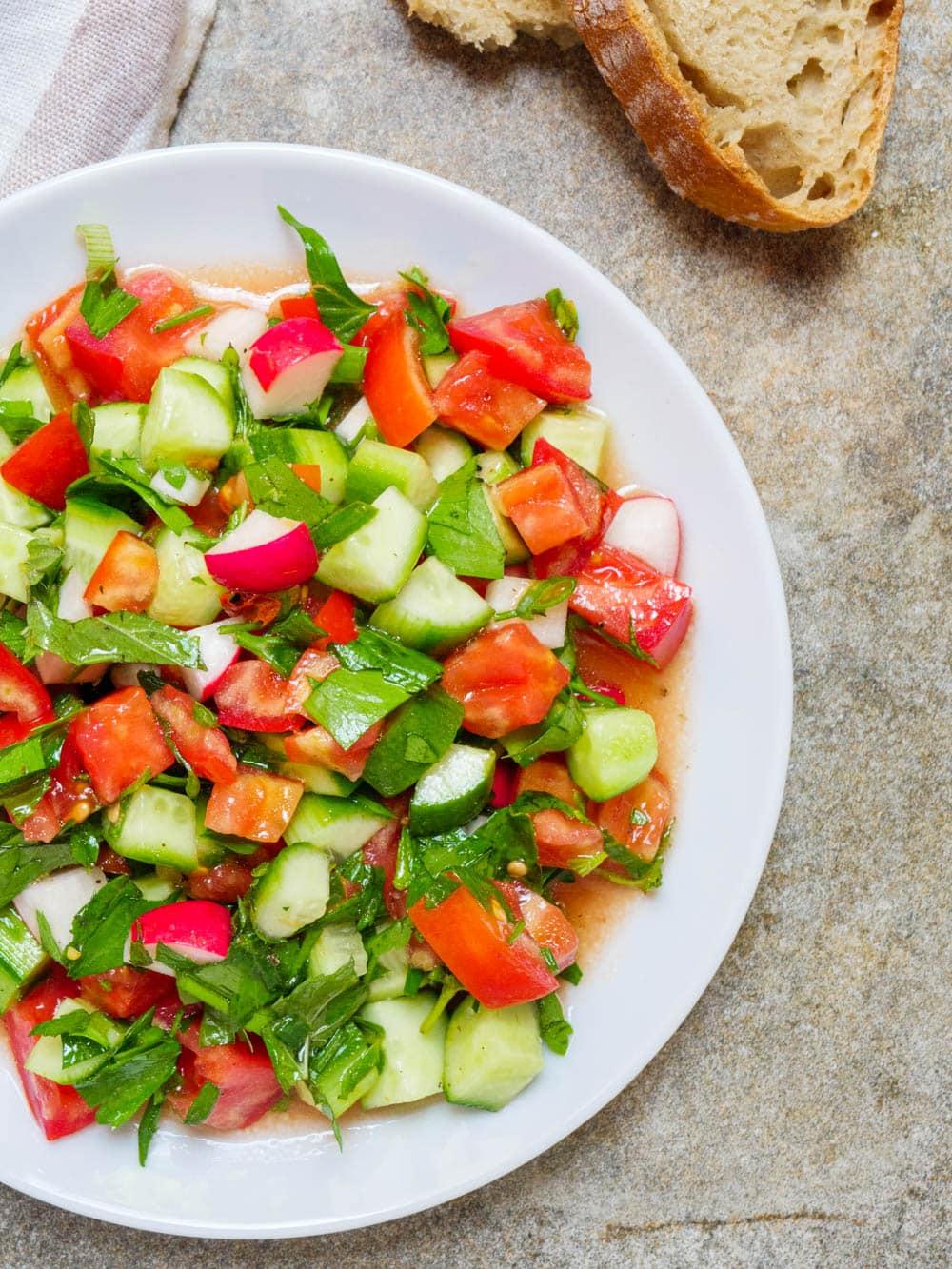 Den beste sommersalaten - oppskrift / Et kjøkken i Istanbul