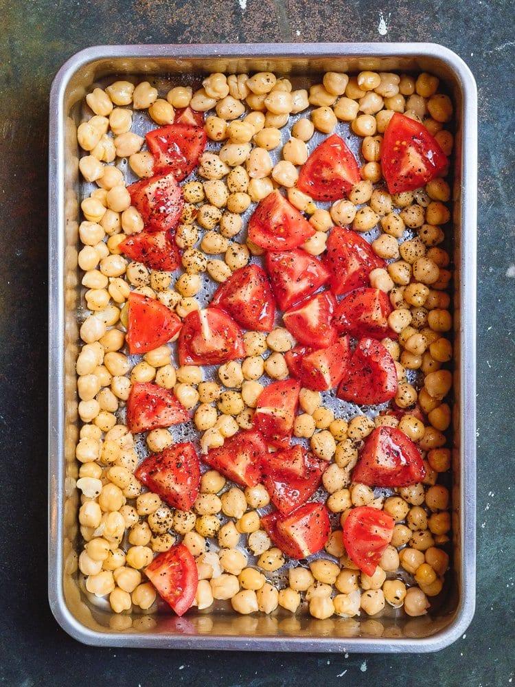 Ovnsbakte kikerter med tomat | Et kjøkken i Istanbul