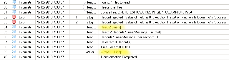 Meta Data: Reader Last Record Flag not working for file with 2 records - Forum