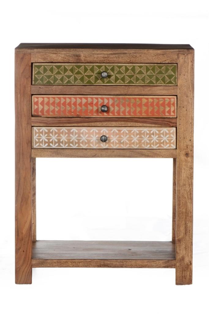Mobiletto vintage dipinto mobili arredamenti online