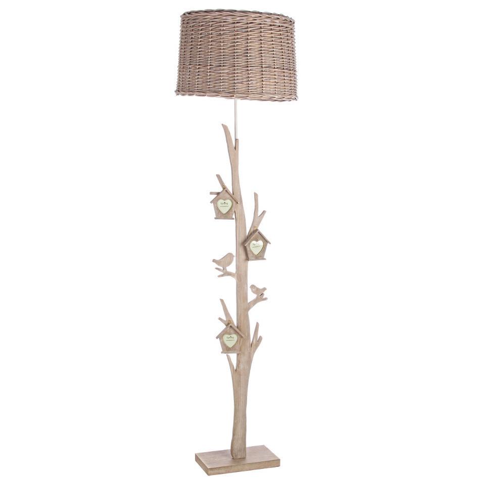 Piantana provenzale legno Lampade e luci provenzali online