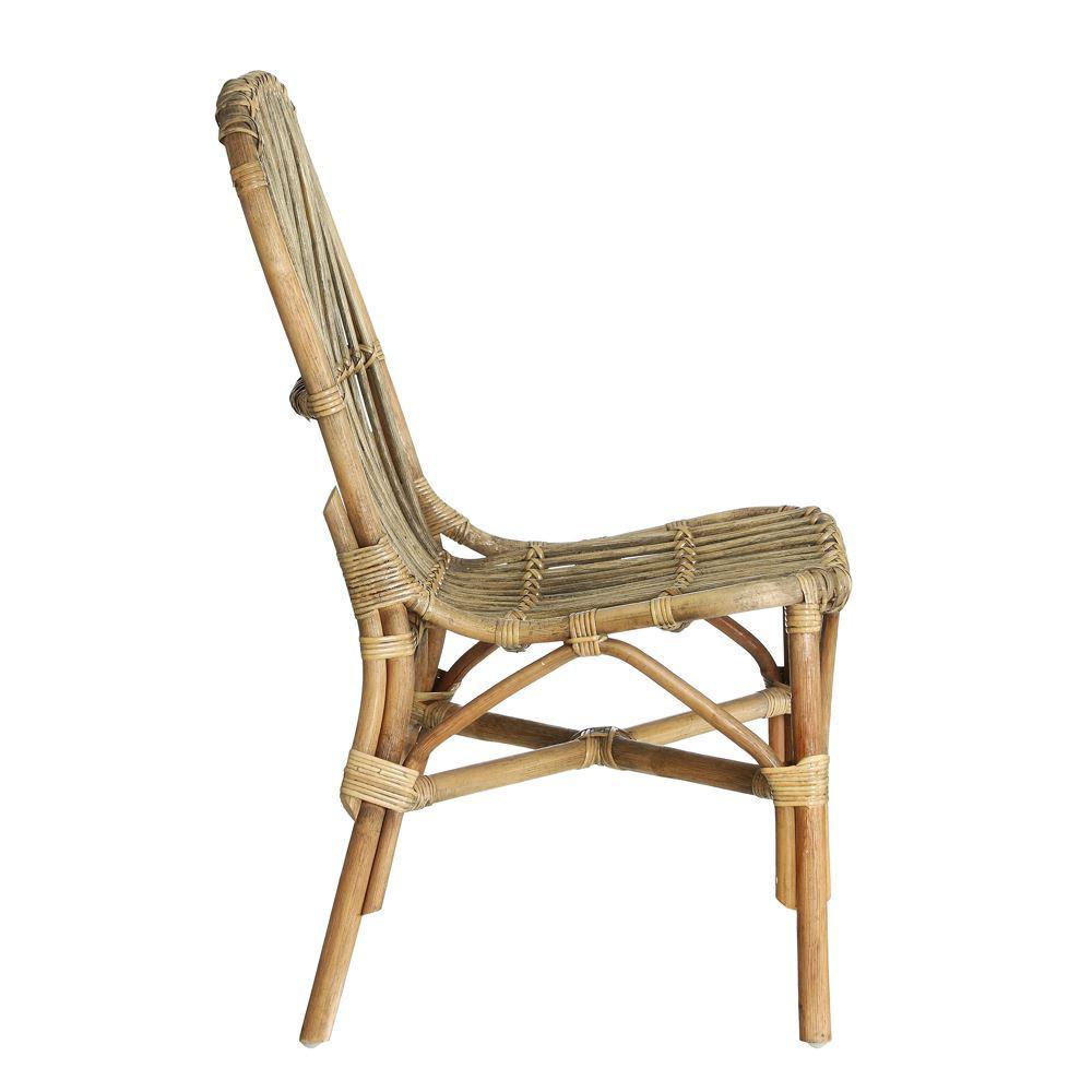 Sedia in rattan e bamboo Sedie etniche