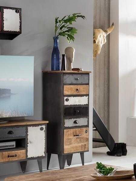 Cassettiera industrial retr  Mobili stile industriale online
