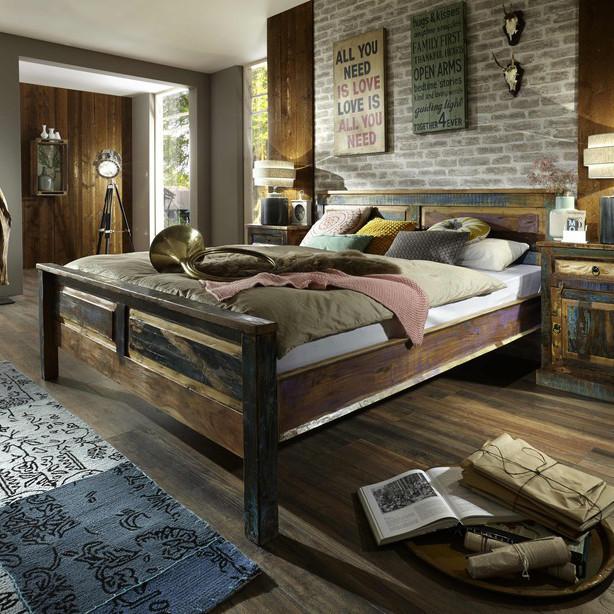 Letto Industrial Old Camere da letto stile Industriale