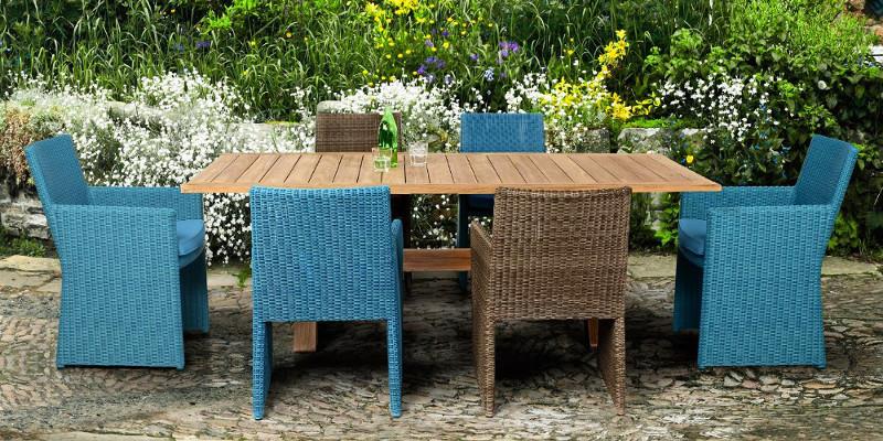 Shanty design sgabelli & sedie roma: Set Tavoli E Sedie Etniche Industrial Shabby Provenzali Giardino