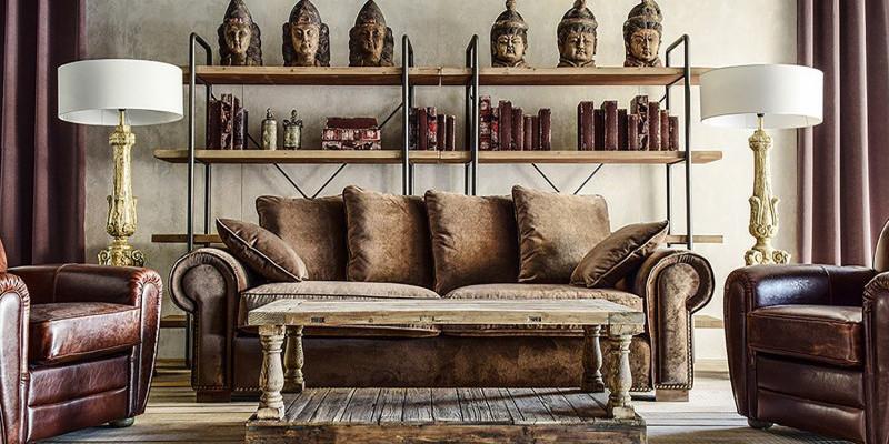 DIVANI INDUSTRIAL e Poltrone vintage vendita on line