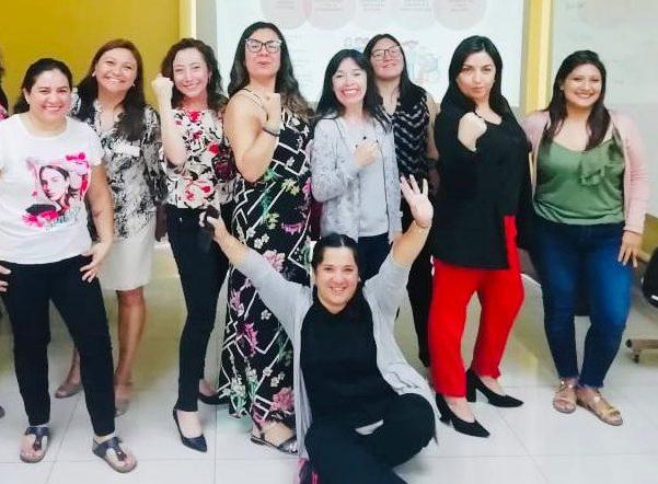 Las mujeres que participaron en el conversatorio: Sobre Desigualdades.
