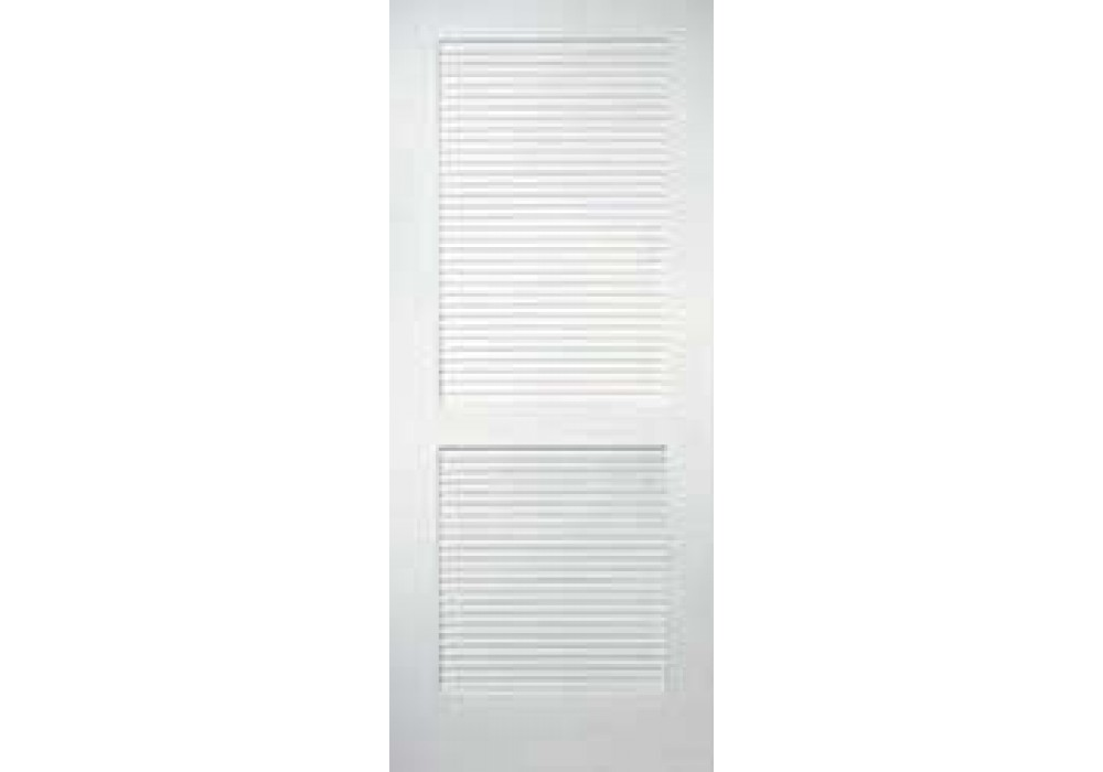 TMC402 Louver 2 Panel Primed Door 1 38 Interior Doors