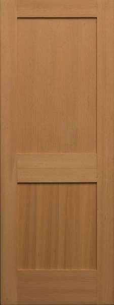Vertical Grain Douglas Fir Interior Doors  2 Panel 138  ETO Doors