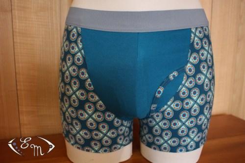 lingerie homme boxer caleçon slip couture jecoudsmalingerie jersey élastique