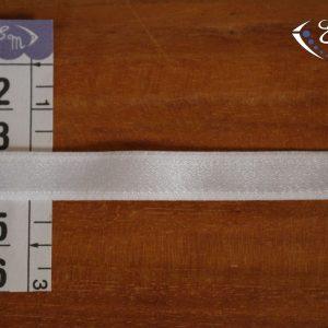 Élastique à bretelle blanc 10 mm