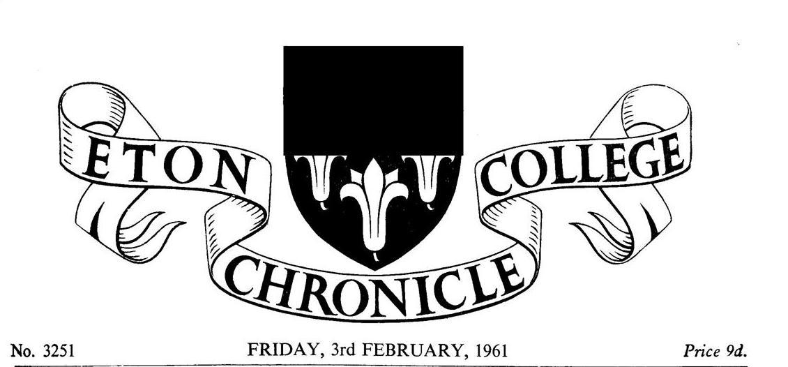 1961 Eton College Tour of Nigeria