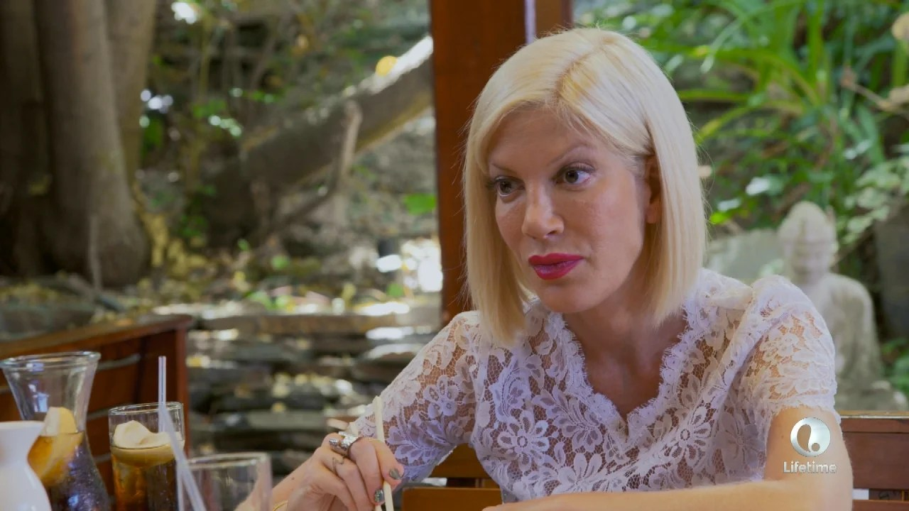 Tori Spelling Admits to Cheating Dean and I Had Sex the First Night We Met  Entertainment Tonight