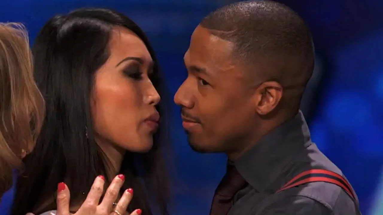 Nick Cannon Kisses AGT Audience Member and Its Excruciating to Watch  Entertainment Tonight