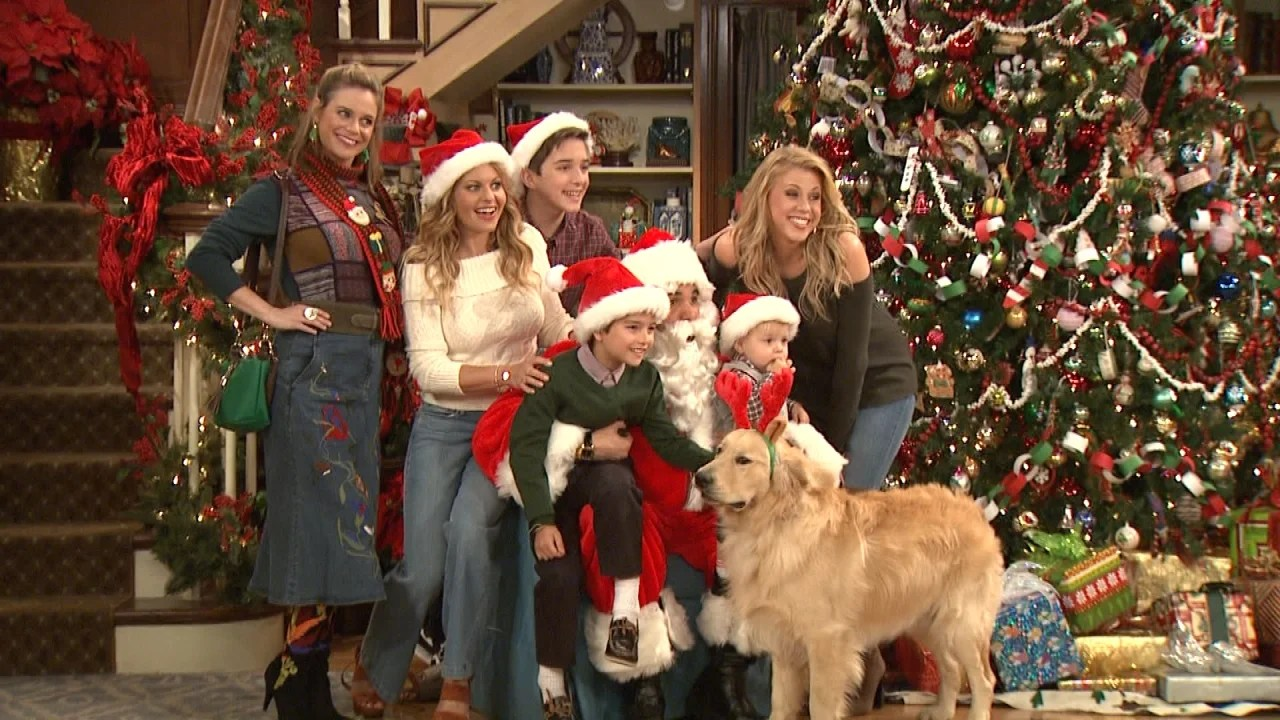 EXCLUSIVE Behind the Scenes With Fuller House Stars as