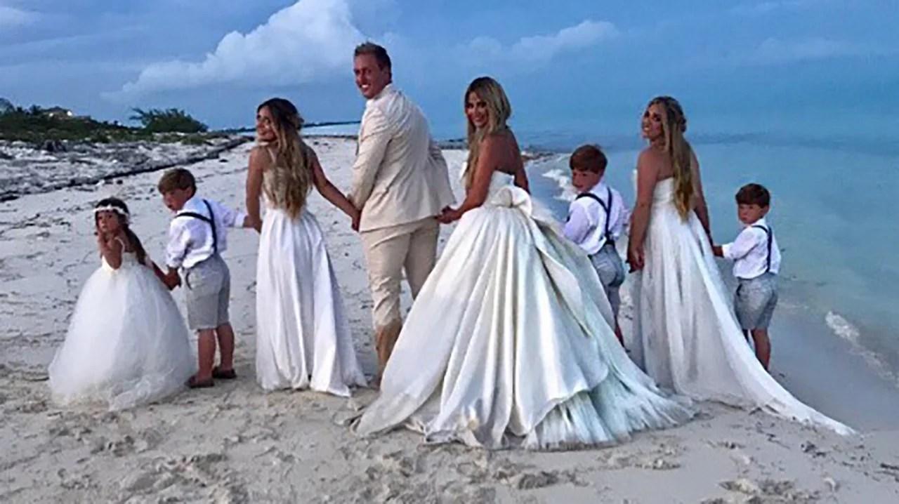 Kim Zolciak Renews Her Vows to Husband Kroy Biermann