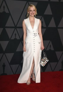 Governors Awards 2017 Emma Stone