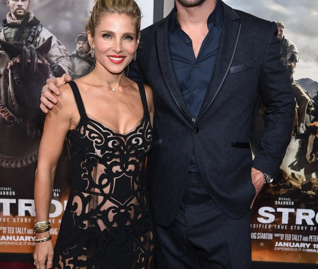 Chris Hemsworth Elsa Pataky Enjoy Date Night At 12 Strong Premiere Gush Over Their Kids Exclusive Entertainment Tonight